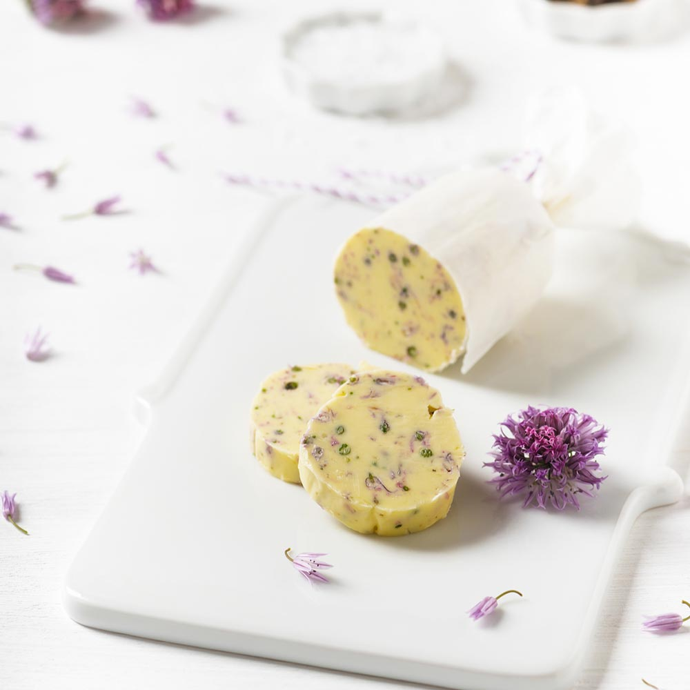 Chive Blossom Butter