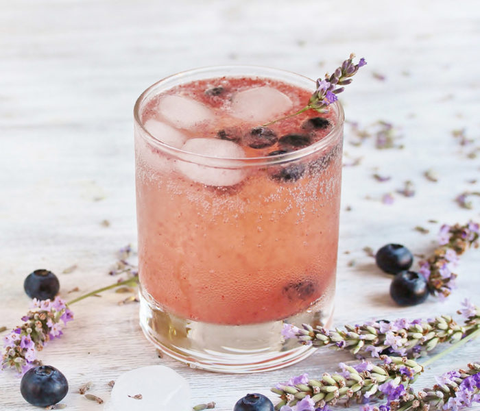 Sweet Blueberry Lavender Fizz