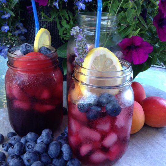 Iced Blueberry Tea