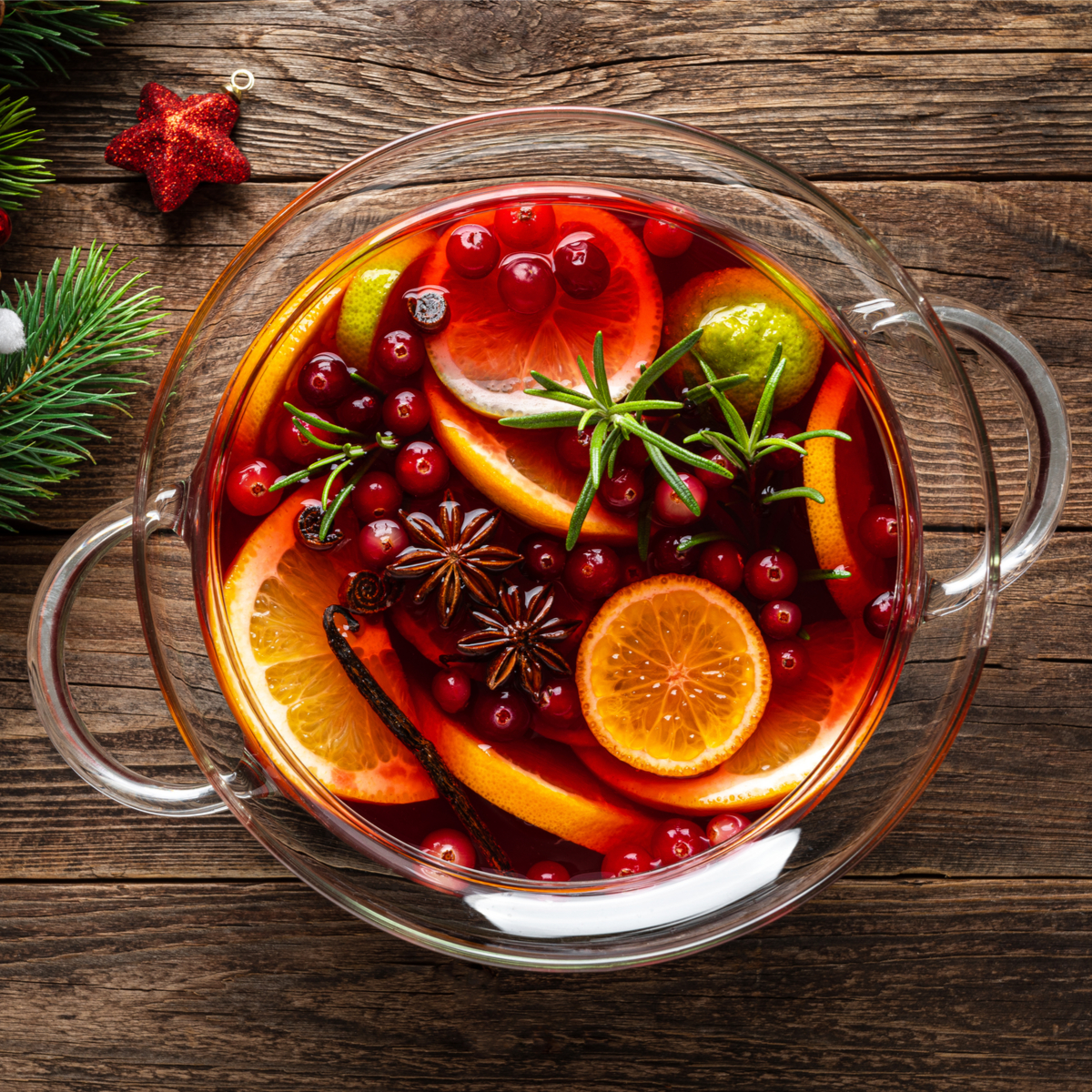 Spiced Cranberry Toddy