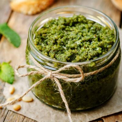 Nettle Mint Pesto Recipe