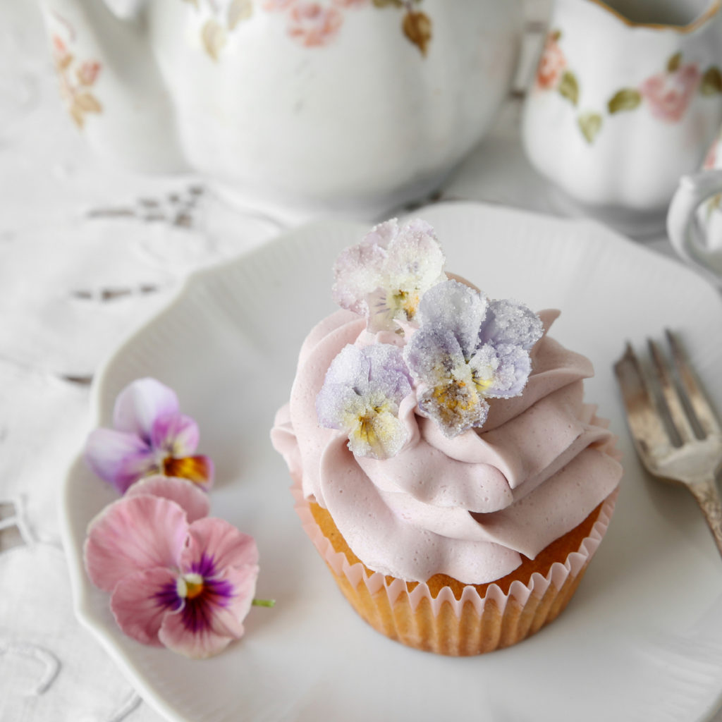 Sugared Edible Flowers Recipe
