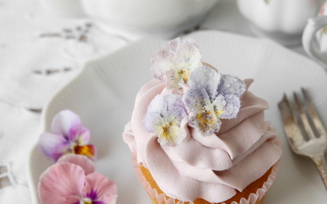 Sugared Edible Flowers Recipe
