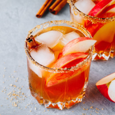 Iced Sweet Apple Chai