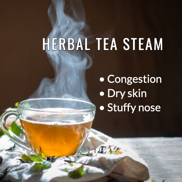 Herbal Tea Steaming