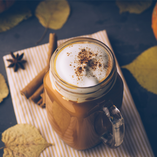 Spiced Pumpkin Pie Dessert Latte